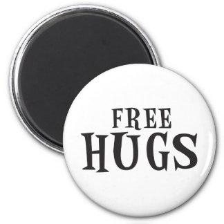 Libere los abrazos imanes