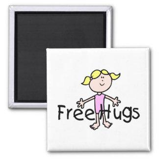 Libere los abrazos iman para frigorífico