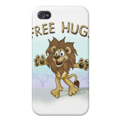 ¡LIBERE LOS ABRAZOS!! iPhone 4 FUNDAS