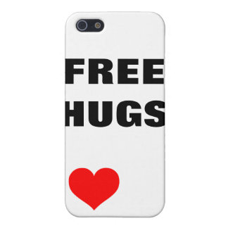 ¡Libere los abrazos! iPhone 5 Carcasas