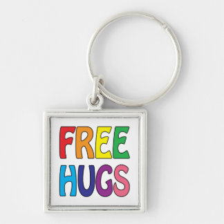Libere los abrazos llavero