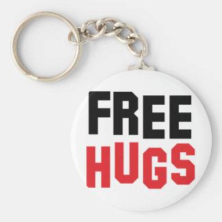 libere los abrazos llaveros personalizados