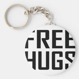 libere los abrazos llaveros