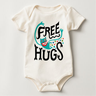 Libere los abrazos mameluco de bebé