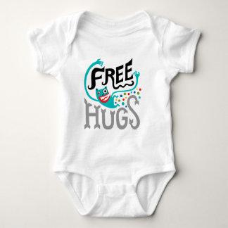 Libere los abrazos - para el bebé mameluco de bebé