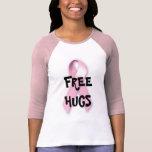 Libere los abrazos para el cáncer de pecho polera