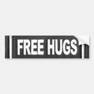 Libere los abrazos pegatina para auto