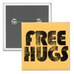 Libere los abrazos pins
