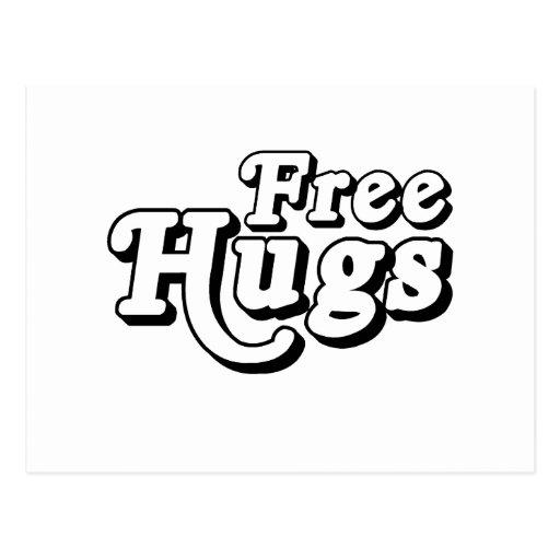 Libere los abrazos .png postal