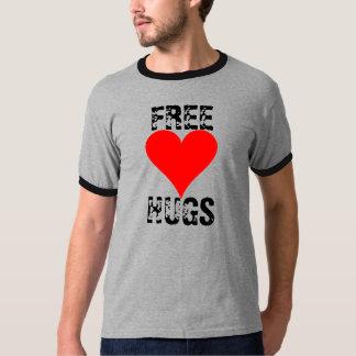 Libere los abrazos remeras