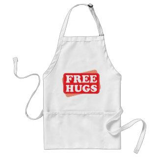 Libere los abrazos - rojo delantales