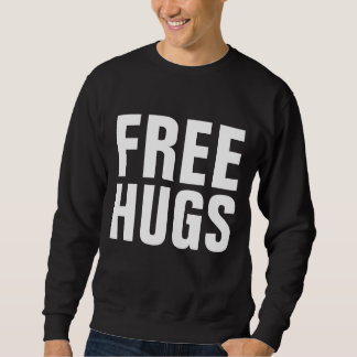 Libere los abrazos sudadera