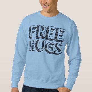 Libere los abrazos sudadera con capucha