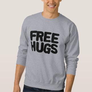 Libere los abrazos sudaderas encapuchadas