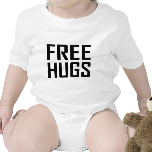 libere los abrazos traje de bebé