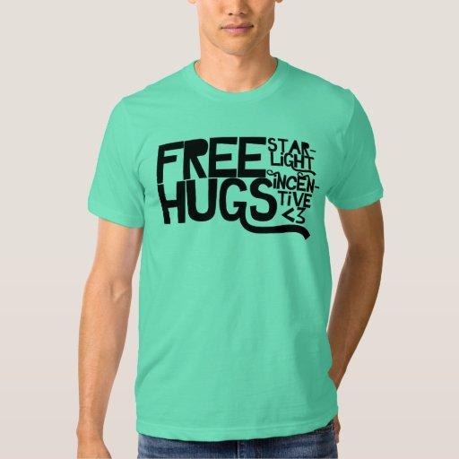 Libere los abrazos - unisex (American Apparel) Playeras