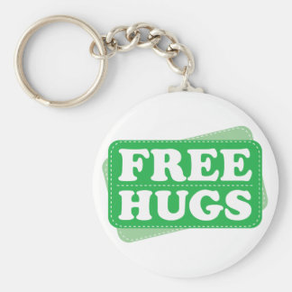 Libere los abrazos - verde llavero personalizado