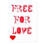 Libere para el amor postal