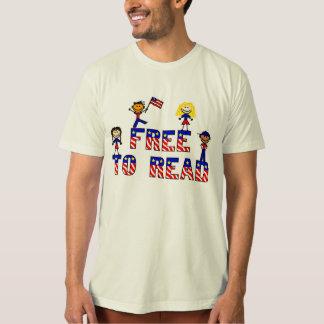 Libere para leer a los niños de w, American Poleras