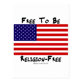 Libere para ser Religión-Libre Postales