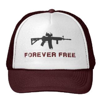 """""""Libere para siempre"""" el gorra marrón del"""
