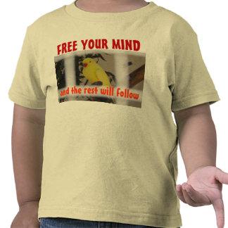 LIBERE SU camisa del niño de la MENTE
