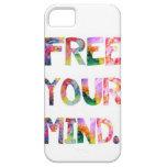 Libere su caso del iPhone 5 de la mente iPhone 5 Case-Mate Cárcasa