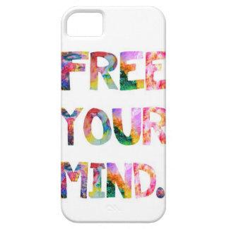 Libere su caso del iPhone 5 de la mente Funda Para iPhone SE/5/5s