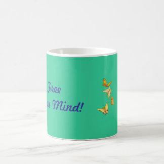 ¡Libere su mente! Asalte con nombre adaptable Taza