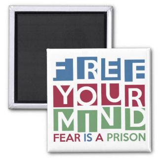 Libere su mente imanes de nevera
