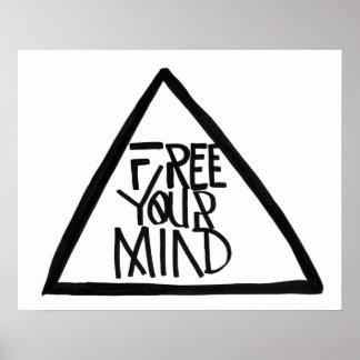 Libere su mente posters