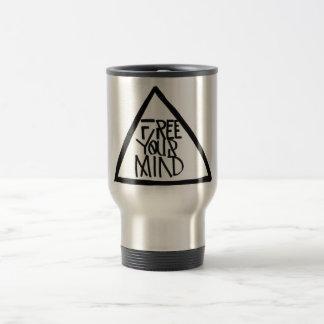 Libere su mente taza