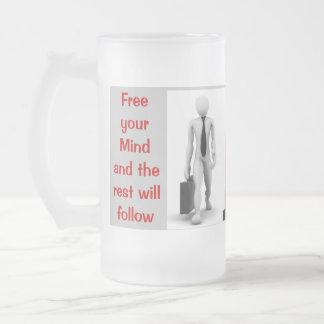 Libere su taza de la mente