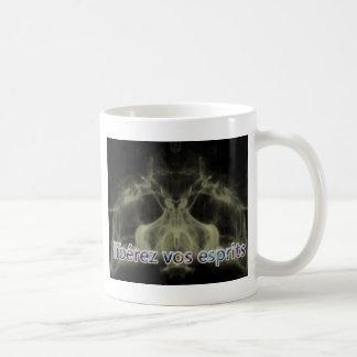 libere sus espíritus tazas de café