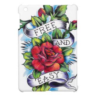 Libere - y - las ilustraciones fáciles del tatuaje iPad mini funda
