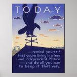 Libere y nación independiente impresiones