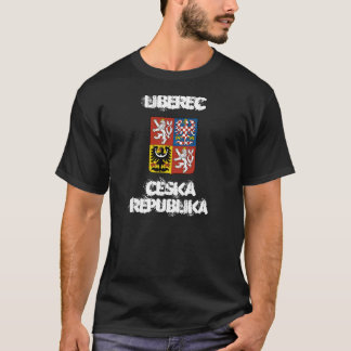 Liberec, Czech Republic with coat of arms T-Shirt