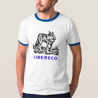 Libereco (Freedom, freedom) - Lupo EN naturo Tee Shirt
