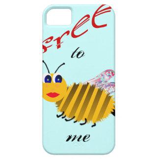 Libéreme a la abeja las cubiertas del iphone iPhone 5 fundas