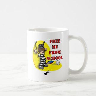 Libéreme de escuela tazas
