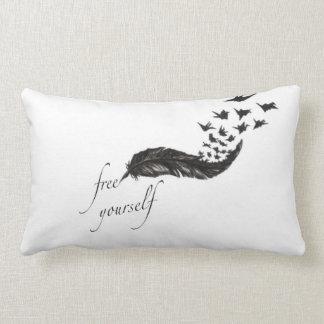 Libérese almohada de la pluma