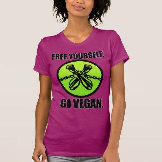 Libérese. ¡Va el vegano! Camisetas