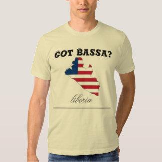 LIBERIA (BASSA TRIBE) FLAG T-SHIRT