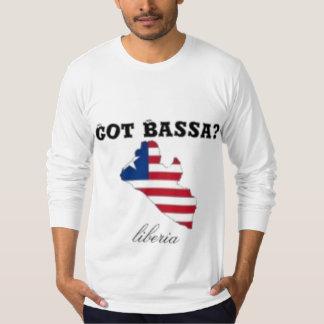 Liberia, camiseta del mapa (tribu de Bassa) Camisas