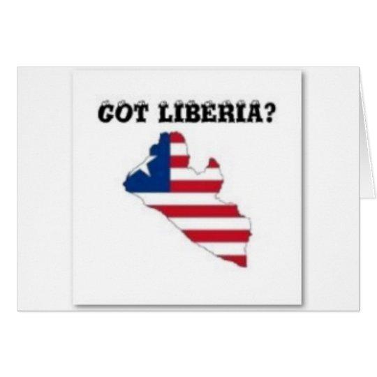 Liberia Card