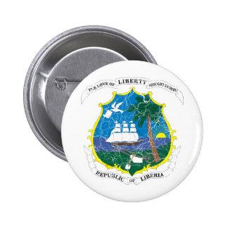 Liberia Coat Of Arms Pins