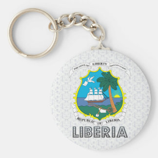 Liberia Coat of Arms Keychain
