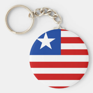 liberia country flag nation symbol keychain