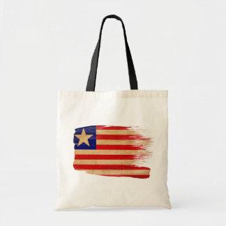 Liberia Flag Canvas Bags