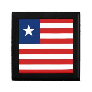 Liberia Flag Gift Box